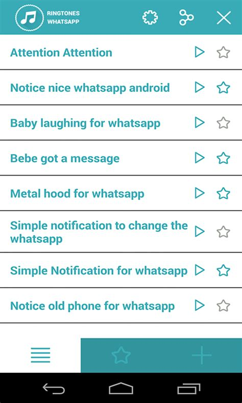 ringtones for android ringtones for whatsapp free apk android app android freeware