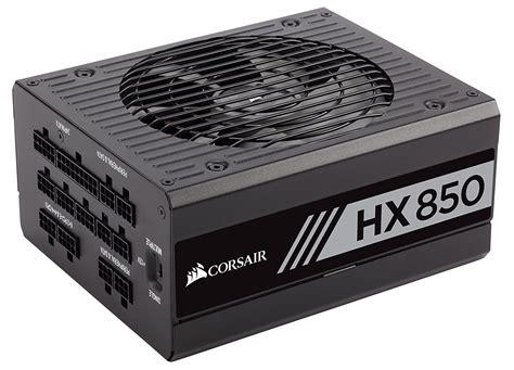 Psu Corsair Hx Series Hx850 Cp 9020138 Na 850 Watt 80 Platinum corsair hx850 850w platinum certified modular psu power