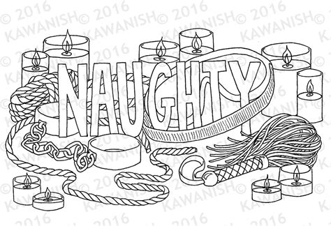 coloring pages for adults naughty naughty kinky bdsm adult coloring page wall art