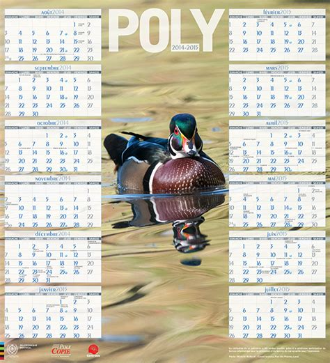 Calendrier Polymtl Le Calendrier Poly Centraide 2014 2015