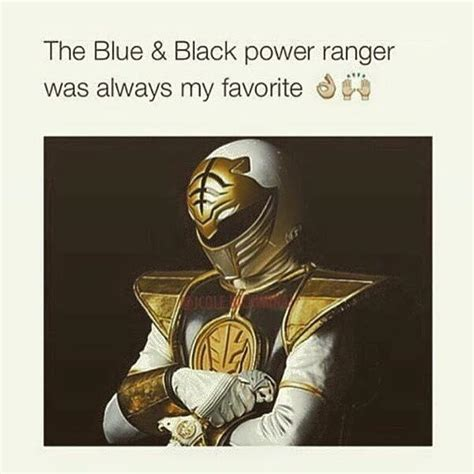 Black Power Memes - black and blue power ranger meme