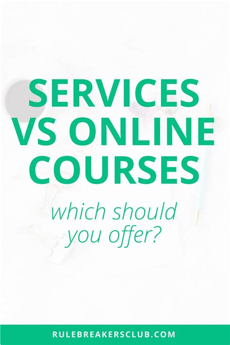 Course On Businesses What You Should by Services Vs Courses Which Should You Offer The