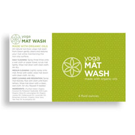 Gaiam Mat Wash by Gaiam Mat Cleaner Spray 4oz Sports