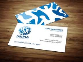 usana business cards usana business card design 2