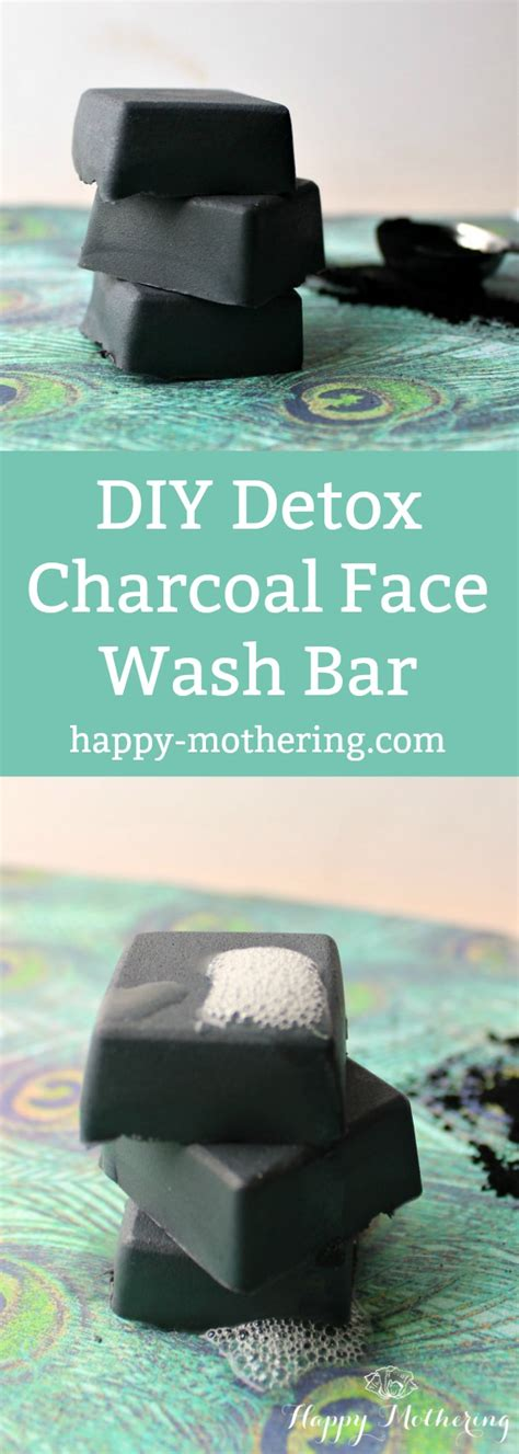 Charcoal For Mold Detox by Make This Diy Charcoal Soap Wash Bar To Detox Your