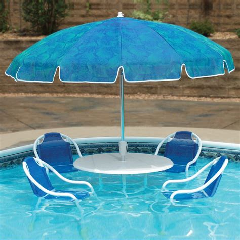 swimming pool patio table set the green
