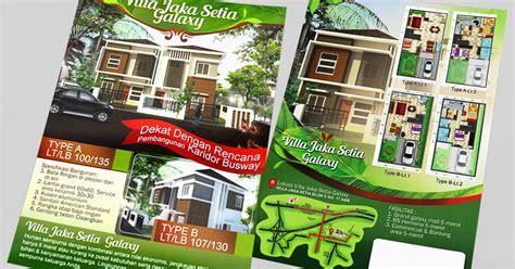 desain brosur promosi desain brosur promosi perumahan