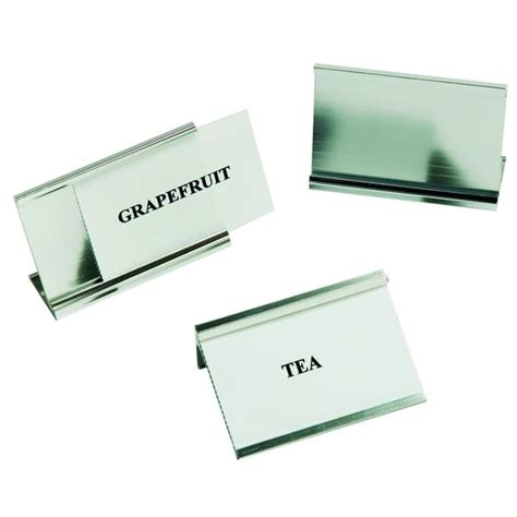 Table Signs by Interchangeable Table Signs 163 3 25 Each Foremost Products