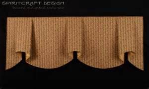Board mounted valance treatments interior designer home decor