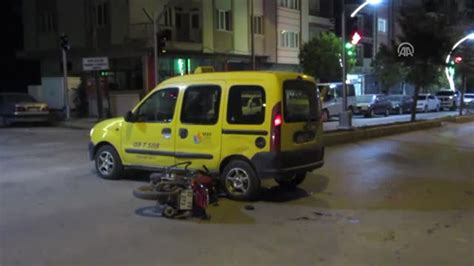 taksiyle carpisan motosikletin sueruecuesue oeldue haberler