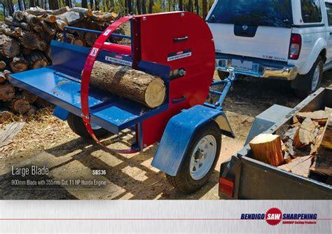 docking machine gallery bendigo  sharpening log