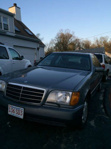 how it works cars 1992 mercedes benz 400se electronic valve timing sell used 1992 mercedes benz 400se in united states