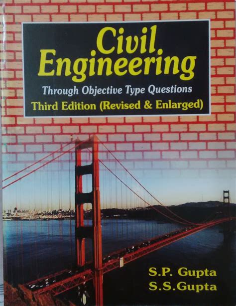 buy civil engineering books india civil engineering through objective type questions 3 e by