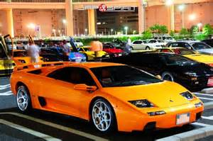 Lamborghini Orange Color Lamborghini Diablo Car Orange Color At Daikoku Pa