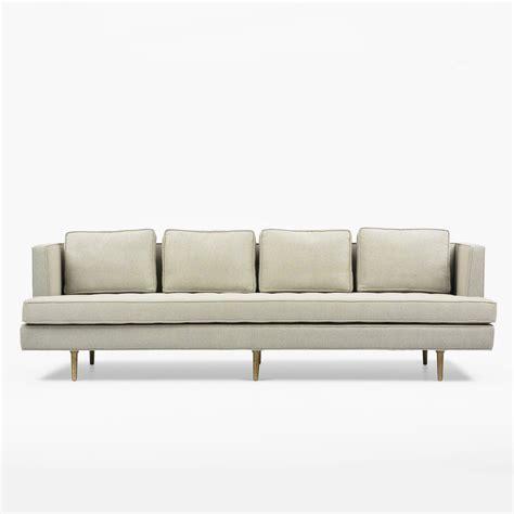 wormley sofa 1960s edward wormley sofa for dunbar at