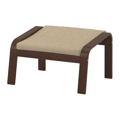 Ikea Poang Bangku Kaki Hitam Cokelat Finnsta Motif po 196 ng bangku kaki isunda krem cokelat isunda krem ikea