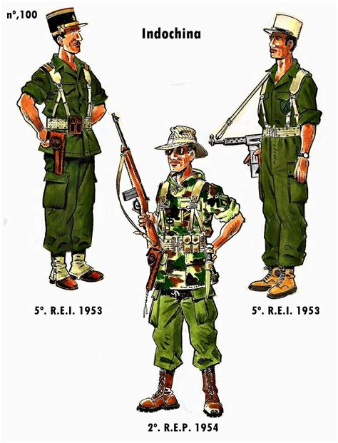 Foreign Legion foreign legion indo china by j bueno franse vreemde