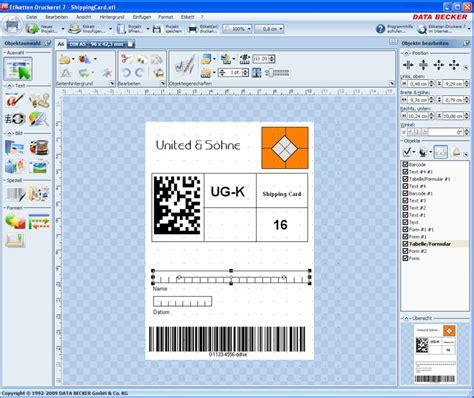 Etiketten Drucken Programm Kostenlos by Software Etiketten B 252 Rozubeh 246 R