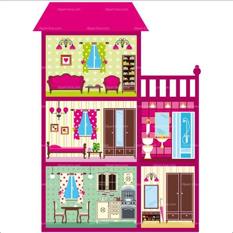 haunted house 2 doll clip doll clipart doll house pencil and in color doll clipart