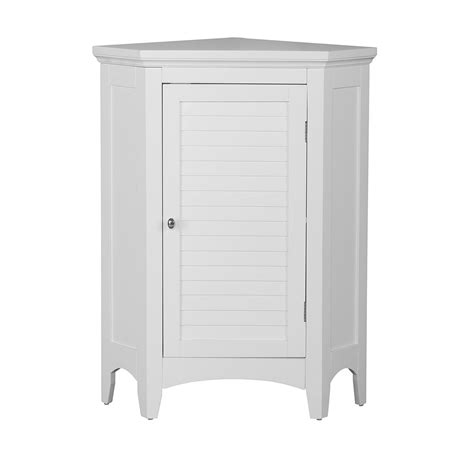 Corner Floor Cabinet by Home Fashions Slone Corner Floor Cabinet With 1