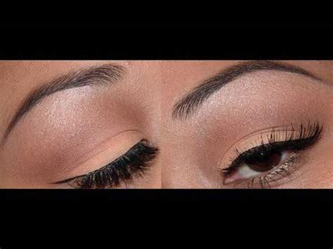 natural eye makeup tutorial mac easy natural eyeshadow tutorial youtube