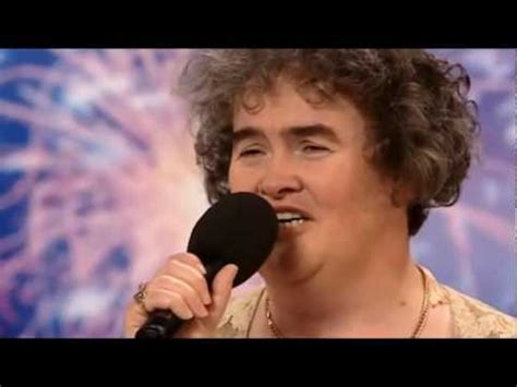 Susan Boyles First Audition I Dreamed A Dream Britain | emotional and golden buzzer moments america s got tale