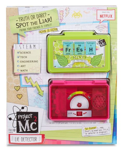 project kit project mc2 lie detector science kit toys