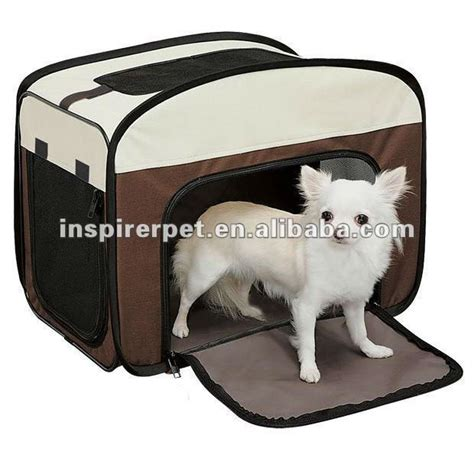 soft sided dog house soft sided collapsible dog house pet tent view pet tent inspirerpet product details
