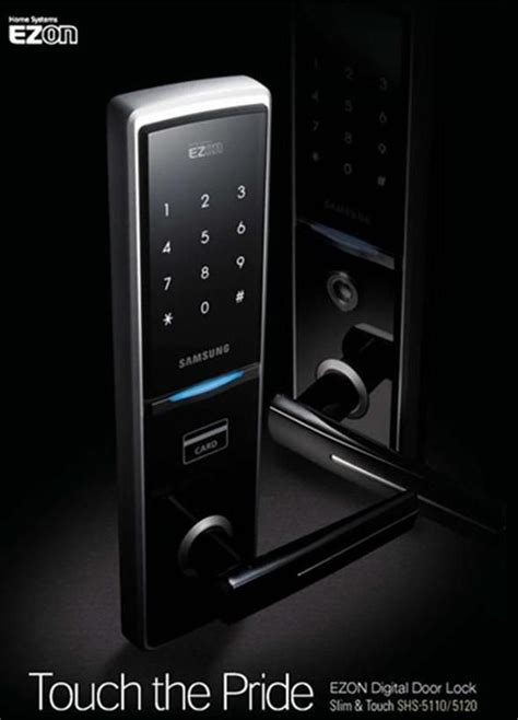 samsung shs 5050 residential door lock home automation
