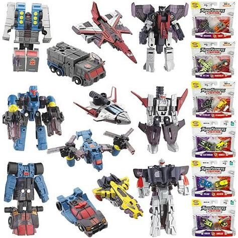 Transformers Mini Jadul 10 transformers cybertron mini con 2 packs wave 3 images
