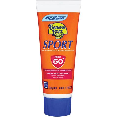 Banana Boat Sport Spf 50 200g by Buy Banana Boat Spf 50 Sport 40g At Chemist