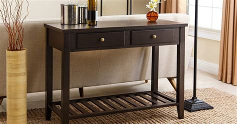 overstock sofa table 4 easy tips for picking the sofa table overstock