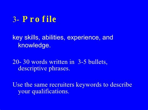 Writing A Great Resume by Writing A Great Resume