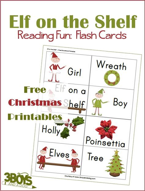 elf on the shelf printable resources elf on the shelf christmas printables reading flash