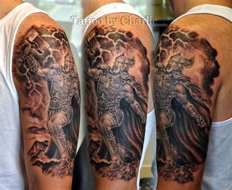 thor tattoo by gettattoo on deviantart