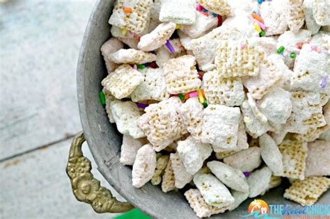 cake batter puppy chow cake batter puppy chow recipe muddy buddies