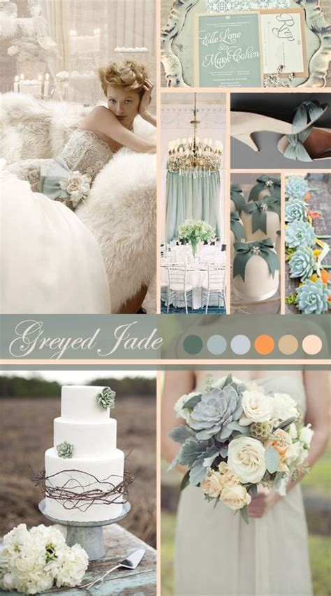 17 Best ideas about Greyed Jade Wedding on Pinterest
