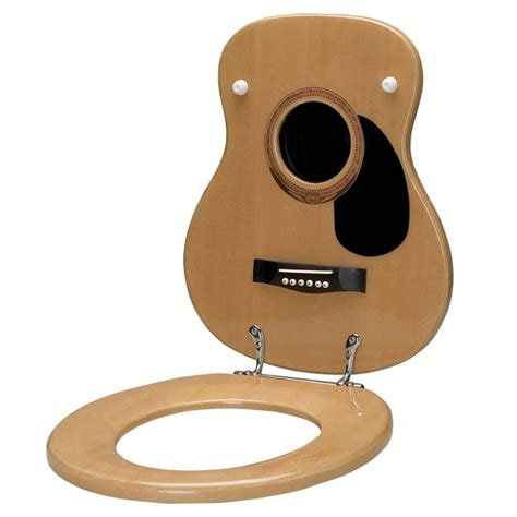 guitar toilet seat acoustic guitar toilet seat at the stand