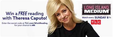 theresa caputo car tlc long island medium sweepstakes secret code words winzily