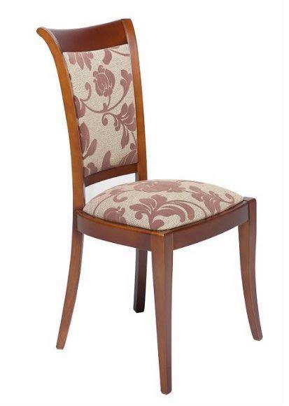 sillon de comedor tapizado  silla de madera