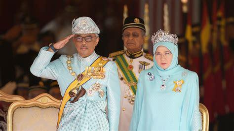 malaysias  king installed  rotating monarchy