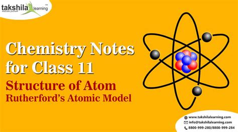 S Day Notes Class 11 Ncert Chemistry Notes For Class 11 Rutherford S Atomic Model