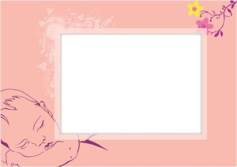 powerpoint templates free download newborn download ms office baby girl photo frame conference