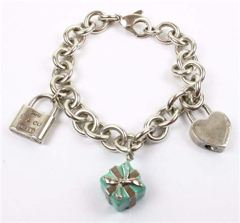Charm Silver by Authentic Co Sterling Silver Charm Bracelet With