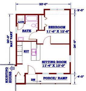 in law apartment addition plans in law addition with kitchen homes and house plans