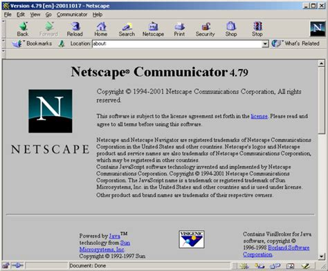 Netscape Search Netscape Communicator 4 79