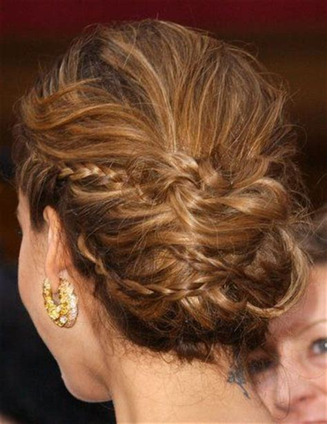braided hairstyles jessica alba back view of jessica alba formal hairstyle wedding hair