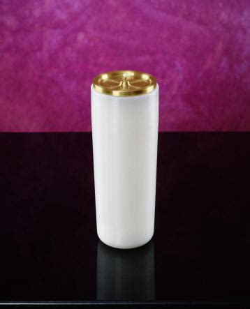 Candle Vs L by Sanctuary Candle Refillable Lvs Church Supplies