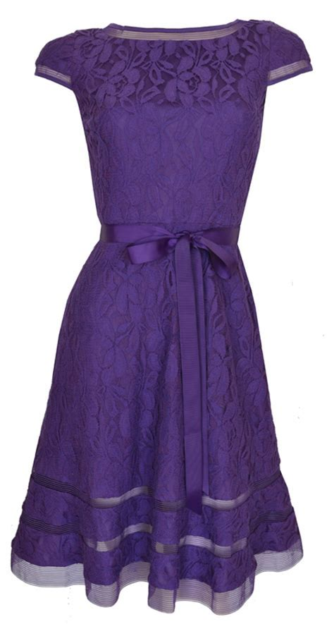 Purple Cocktail Dress Picture Collection   DressedUpGirl.com