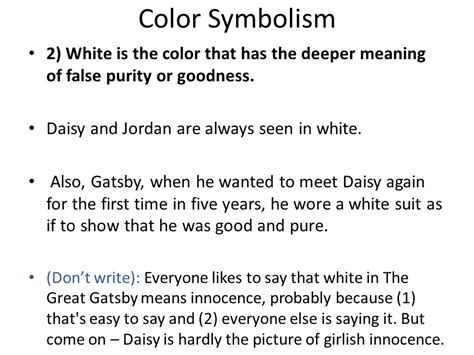 literary symbols in the great gatsby writing services university learning center uncw color